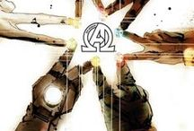 Marvel - Avengers / Being the Earth's mightiest heroes, they joined together to fight the foes no single hero could withstand. The Avengers became the most prestigious and powerful super-hero team in the world. Being recruited by Nick Fury, director of the peacekeeping organization S.H.I.E.L.D., Tony Stark, Captain America, the Hulk, Black Widow, Hawkeye, and Thor form the first team. Over the years the team expands, but they all fight to protect Earth.