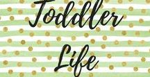 Toddler Life / For little people, toddlers sure do throw you for a loop somedays. A great board for moms of toddlers for tips, tricks and great information.