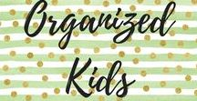 Organized Kids / Holy moly babies and kids have a lot of stuff! Here are some great ways to keep life organized amidst the chaos.
