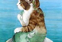 Cats in art No2