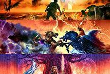 PJO,CK,HOO, As Provações de Apolo, Magnus Chase e os Deuses de Asgard