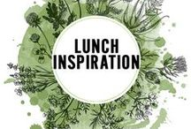 Lunch Inspiration / A collection of lunch ideas and recipes.