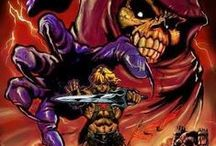 Masters of the Universe / Masters of the Universe (commonly abbreviated MOTU and sometimes referred to as He-Man, after the lead hero) is a media franchise created by Mattel. The main premise revolves around the conflict between the heroic He-Man, aka Prince Adam, and the evil Skeletor on the planet Eternia, with a vast line-up of supporting characters in a hybrid setting of medieval sword and sorcery and sci-fi technology.