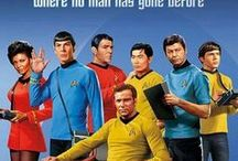Star Trek: Boldly Going / 'Star Trek' is an American science fiction entertainment franchise created by Gene Roddenberry and owned by CBS and Paramount Pictures. The television series Star Trek: The Original Series, Star Trek: The Animated Series, Star Trek: The Next Generation, Star Trek: Deep Space Nine, Star Trek: Voyager, Star Trek: Enterprise, Star Trek: Discovery as well as the Star Trek film franchise make up the franchise's canon.