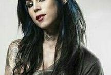 Kat Von D (Tattooist) / Katherine von Drachenberg, known as Kat Von D, is an American tattoo artist, model, musician, entrepreneur, and television personality.