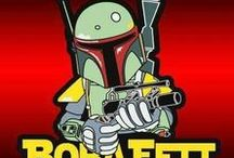Star Wars: Boba Fett (Random) / Images of the infamous Bounty Hunter not directly related to the movies.