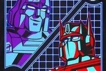 Transformers (G1): Megatron & Optimus Prime