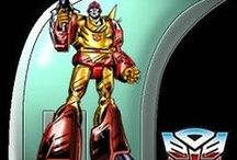 Transformers (G1): Hotrod & Rodimus Prime