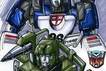 Transformers (G1): Hound & Mirage
