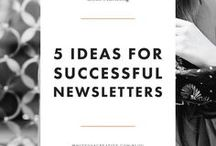 Email Marketing for Business / Our clients ask for best practices for email marketing. Here are our favorite resources for business email marketing.
