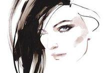 ilustración de moda / figurines de moda