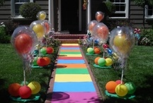 Kids party ideas / by Becky Moore