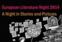 European Literature Night / European Literature Night is held simultaneously in around 20 capital cities across Europe and Asia in May each year - the best European fiction! The photos and covers below are about the authors selected for the event in London, British Library on 16 May. More photos: http://www.flickr.com/photos/storkpress/sets/72157629830751480/ and movies: http://www.youtube.com/user/StorkPress