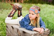 Little Cowpokes! / Check out our styles for the cowgirls and cowboys!