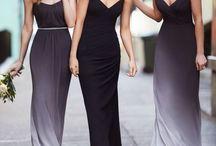 Black And White Weddings--the Elegant Choice. / Beautiful Black and White Weddings with all the trimmings. #Black&WhiteWeddings
