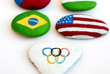 Olympics / Olympic Themed Activities for Kids including Summer Olympics and Winter Olympics.  Hands on activities and crafts for the Winter Games