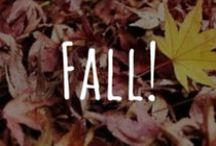 Its time for FALL!