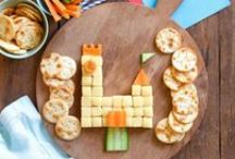 KIDSPOT: Snacktime! / Yummy healthy snacks for kids and parents who want quick food that's easy to make (and look at!). #kidspotkitchen #parenting / by Kidspot