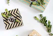 Gift Wrapping / Gift wrapping ideas for the holidays! LoveGrowsWild.com / by Love Grows Wild - Liz Fourez