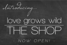 My Fav Products & Companies / Products and companies we love! LoveGrowsWild.com / by Love Grows Wild - Liz Fourez