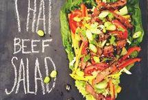 Tossed Up / salad recipes | side dish | main dish salad | Caesar salad | Cobb salad | vegetables | fruit salad | slaw | chopped salad | pasta salad | salad dressing