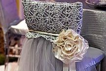 Silver Sophistication / Embracing all things silver for weddings.