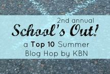 School's Out: A Top 10 Series by KBN / Learning happens 365 days a year both in the classroom and out of the classroom.  This board focuses on Activities for Learning when School is Out.  Summer Vacation, Winter Holiday, Spring Break... no worries we've got you covered!  Members of the Kid Blogger Network are sharing their Best Tips to encourage your child to keep growing day after day no matter where you are.