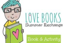Summer Book Exchange / Who loves Books?  Who loves getting a special package? Join 60+ kid friendly bloggers and parents as we Exchange Picture Books and Activities with each other during the Summer Love Book Exchange.  Get inspired and form your own Book Exchange with friends!  We're sharing our favorite posts and our amazing book activities on this board!  Follow along all summer long!   www.theeducatorsspinont.com / by The Educators' Spin On It