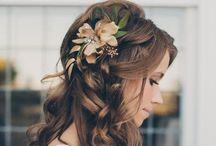 *Wedding hair*