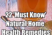 home remedies / by Elizabeth jed