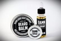 Damn Good Soap Company / Our products, beard oil, moustache wax, beard balm, soap for men, shaving soap and more.