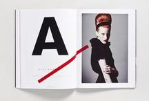Graphic Design | Editorial & Layout / Print layouts and inspiration culled from magazines, books, posters and brochures.