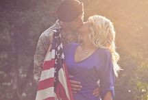 Vows & Valor: Military Weddings / For our men and women in uniform, this board is for you. Ideas, celebrations and our semi DIY invitations--enjoy!