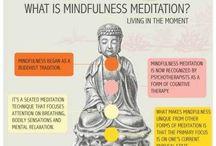 Eastern Thinking / Meditation, mindfulness, yoga, vitamins, foods
