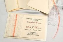 Lace Real Lace! Invitations / Real lace DIY invitations