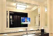 TV Wall Mounting Ideas / Creative and inspiring ways to install a television in your home. Step by step tutorials and some links to pre made entertainment centers. Brought to you by the Gold Coast TV installation experts.