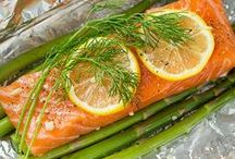 Fish and Seafood / Recipes for using fish and seafood in main dishes, lunches, healthy meals, salads, etc.