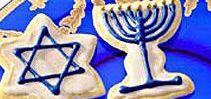 Hanukkah / Hanukkah food and treats, decorations, etc.