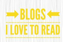 Blogs I love to read!