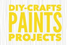DIY- Crafts, Paints, Projects