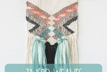 INSPO - Weaves & Macrame / I'm a weave and macrame lover - the perfect addition to your nursery space!