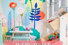INSPO - Colour / Love bright colour palettes!