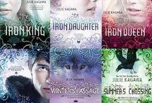 Julie Kagawa books / Iron fey, blood of Eden, call of the forgotten, Talon saga