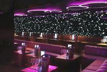 Bar/Nattklubb / Inspireras för att skapa häftiga miljöer i din nattklubb/bar med hjälp av RGB LED. #belysning #rgb