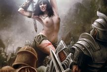 Human Female Barbarian