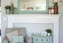 Interior Design & Living Space / by Christine Stewart
