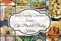 Best of The Plaid & Paisley Kitchen / All of the Easy, Tasty Family Friendly Meals from The Plaid & Paisley Kitchen.  These recipes will make your life easier and your family happier!