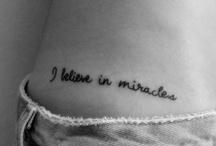 Tattoos  / by Alyssa Price