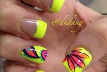 Funky Nails ! / Many different colors and I love funky nails !