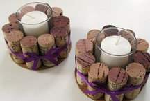 Wine Bottle & Wine Cork Crafts / by Penelope Jane